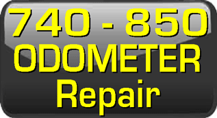 740, 940 odometer repair gears and instructions.