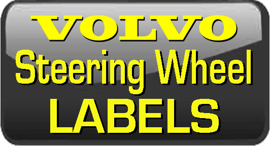 Volvo SteeringWheel Labels