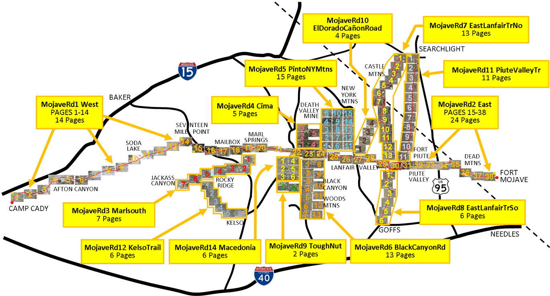 Mojave Road Offroad Trail Maps on trail map print, trail map design, calendar pdf, globe pdf,