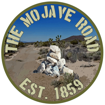 The Mojave Road Cairn.